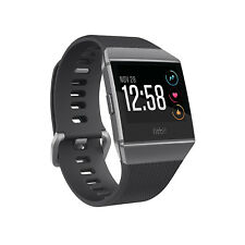 Fitbit Ionic Smartwatch Charcoal / Smoke Gray One Size (S & L Bands Included)