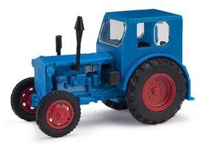 Busch 210006401 - 1/87/H0 Tracteur Pionnier - Bleu - Neuf