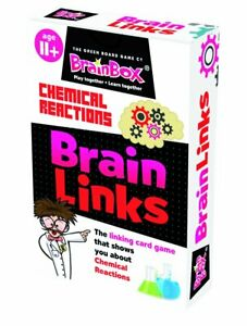 BrainBox Brain Links Chemical Reactions Educational Family Card Game Age 11+ NEW