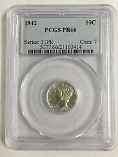 1942 Dime 10 Cent PCGS PR66 Series 31PR Coin 7