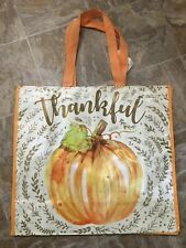 NEW TJ MAXX Thanksgiving Shopping Bag Reusable Travel Tote Eco Friendly NWT