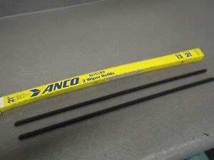 "Lot (2) New NOS Anco Windshield Wiper Blade Refills 21"" 13-21"