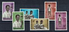 RWANDA 70 à 75 ** MNH 1964 MAISON D'ENFANTS HANDICAPES