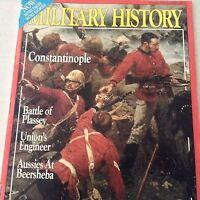 Military History Magazine Constantinople Battle Plassey April 1992 070917nonrh