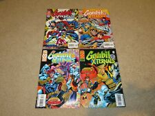 GAMBIT AND THE XTERNALS #1-4 NM COMPLETE SET 1995 plus XTRA EDITION VARIANT