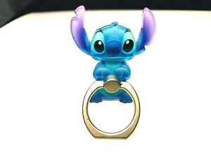 Stitch Mobile Phone Grip Ring.Stand Holder Rotate Gift Bag & Box Ohana Christmas