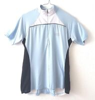 Gore Bike Wear Womens Cycling Top 38 M Blue Pockets Jersey Short Sleeve Bycicle