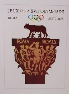 """Olympics ROMA MCMLX (1960)   (16"""" x 12"""")"""