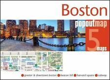 BOSTON POPOUT MAP NEW BOOK