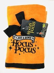 """Disney Hocus Pocus 2pk Halloween Hand Towels """"It's Just A Bunch Of Hocus Pocus"""""""