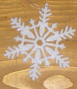 12 Stück Schneeflocke 10 cm zum hängen Deko Winter Weihnachten neu Schneeflocken
