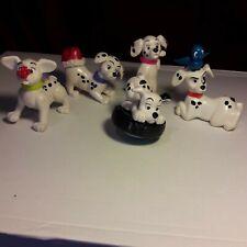 DISNEY X5 McDonalds Happy Meal 101 Dalmations dog figures bundle joblot