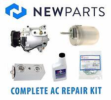 Jaguar S-Type V8 4L 00-02 Complete A/C Repair Kit NEW Compressor with Clutch