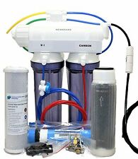 Reverse Osmosis Deionization Water Filter 3 stage Compact Aquarium 25 GPD System