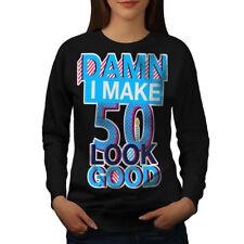 50 Years Old Age Birthday Women Sweatshirt NEW | Wellcoda