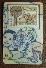 2002   Italia  Tessera Filatelica  Giornata della Filatelia 0,62