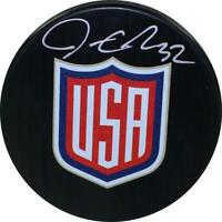 Jonathan Quick Signed USA World Cup 2016 Puck Steiner Sports Certified