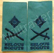 Rhodesia Rhodesian Army Selous Scouts Major General Epaulets (Variant)