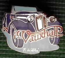 "Vintage VauxhallTourer Enamel  Made in Swizerland Badge 1"" Diameter"
