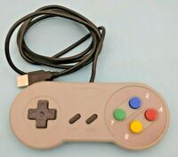 Retro Super Nintendo SNES USB Controller Joypads for Win PC MAC Gamepads
