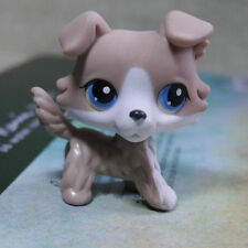 Brown Collie Colley dog pubby #67 LITTLEST PET SHOP LPS Action Figure