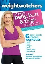 Weight Watchers 10 Minute Belly Butt and Thigh Tone UPS DVD