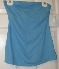 NWT LADIES BLUE MAURICES HALTER TOP   SIZE M