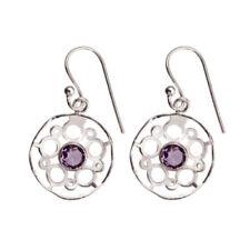 Orecchini di lusso con gemme zircone argento argento