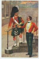 Argyll & Sutherland Highlanders Officer Harry Payne Tuck 9883 Art Postcard, B941