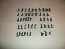 Airfix HO/OO escala 1/72 Figuras Vintage De Infantería ACW confederado Conjunto Completo