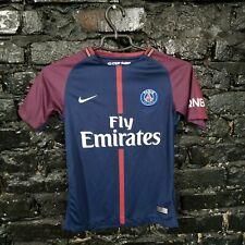 Neymar Paris Saint-Germain Jersey Home shirt 2017-2018 Nike Trikot Size Young M