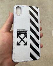Off White HypeBeast iphone X/XS Case FREE SUPREME STICKER