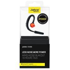 New Jabra Storm Bluetooth Headset HD Voice NFC Wind Noise Reduction 10HR TALK UK