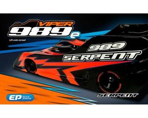 Serpent Viper 989E 1/8 Electric On-Road Car Kit [SER904005]