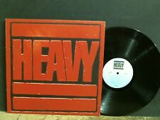 HEAVY  Various Artists  LP  Iron Maiden  Motorhead  Status Quo   Lovely copy !