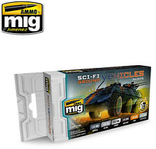 Ammo by Mig Sci-Fi Ground Vehicles Color Set # 7155