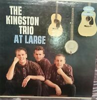 The Kingston Trio at Large                     LP Record