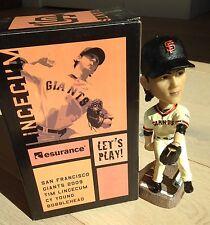 Tim Lincecum 2009 Giants CY YOUNG Bobble Bobblehead SGA