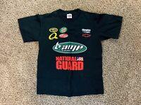 NASCAR DALE EARNHARDT JR #88 Black T-Shirt Chase Authentics Size Medium