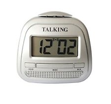 Kwanwa Small Talking Alarm Clock With Big Time Display And Loud Talking Voice...