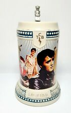 1993 CUI Life Of Elvis Limited Edition Deluxe Edition TCB Stein No. 188 of 1977