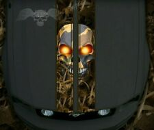 Hood Racing Stripes Fallout Camo Skull Rally Stripe Vinyl Accessories Decals