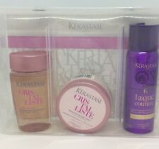 Kerastase Cristalliste Collection Shampoo Hair Masque Hairspray Trio Travel Set
