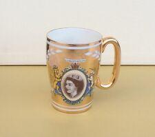 Sadler China Gilded Tea Cup Celebrating Queen's Coronation