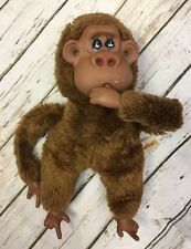 Russ Rutherford III Thumb Sucking Monkey Orangutan Plush Stuffed Animal Vintage