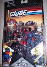 G.I.Joe Comic Pack - Iron Grenadier and Destro VARIANT!
