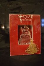 Glass Christmas Noel Bell Ornament Our First Christmas 2009 Marquis By Waterford