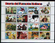 SAN MARINO 1997 foglietto Storia del Fumetto nuovo **
