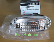 MG Rover 25 ZR MGZR Left Front Nearside NSF Indicator Lamp Lens P/N XBD000170