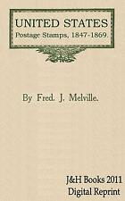 UNITED STATES STAMPS US 1847-69 Book Reprints Premiere Gravure Grille - CD